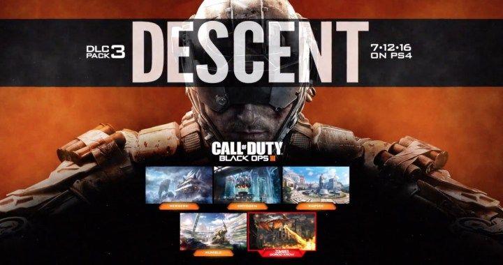 Black Ops 3 – Descent dlc vanaf 12 juli verkrijgbaar voor PS4
