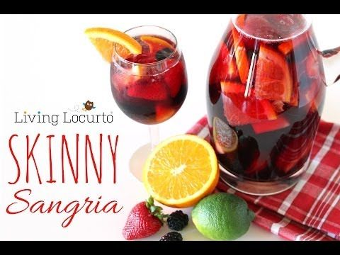 Skinny Sangria Recipe | Easy Low Calorie Cocktail