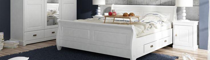 Provencálský bílý nábytek - serie Toskania - ložnice  #bílýnábytek