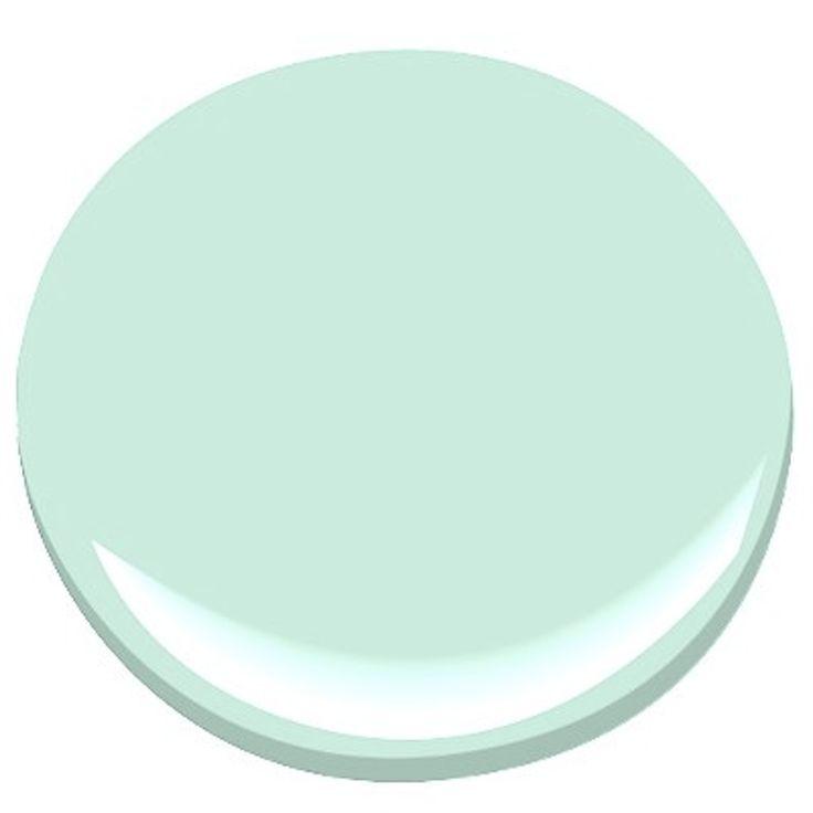 Benjamin Moore Aqua Paint Colors