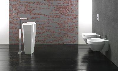 Losanga Element Free: freestanding washbasin by GSI ceramica. RedDot design 2010