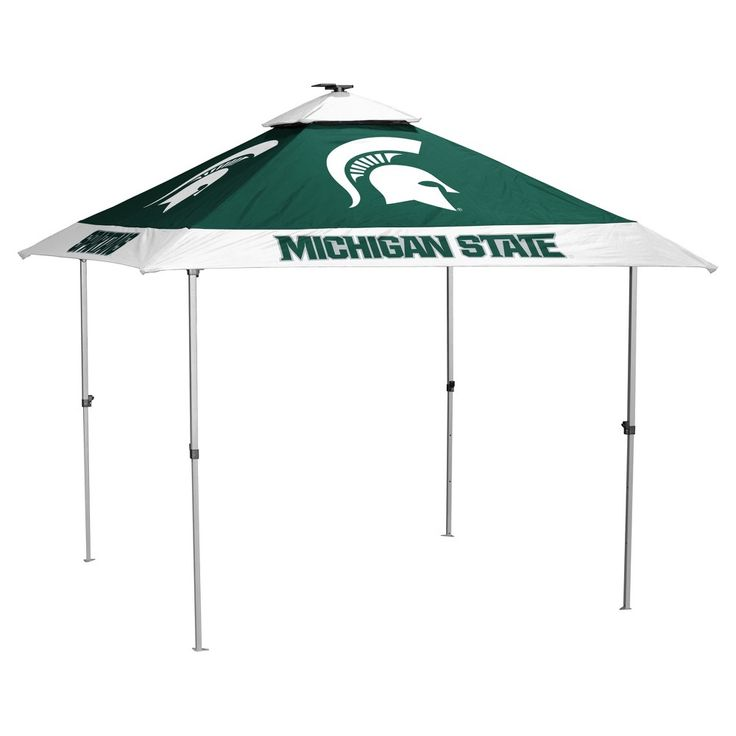 NCAA Michigan State Spartans Logo Brands Pagoda 10x10 Canopy Tent