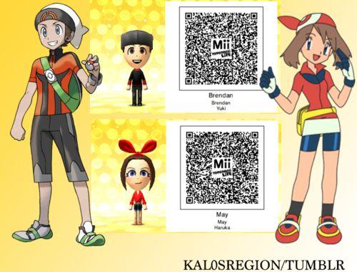 mii qr codes pokemon - Google Search | QR codes ...