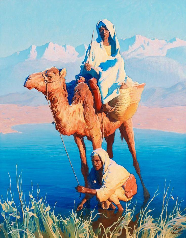 проблемой постер пустыня и верблюды и люди это уже вольная