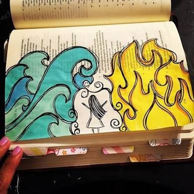 Image result for instagram bible journaling