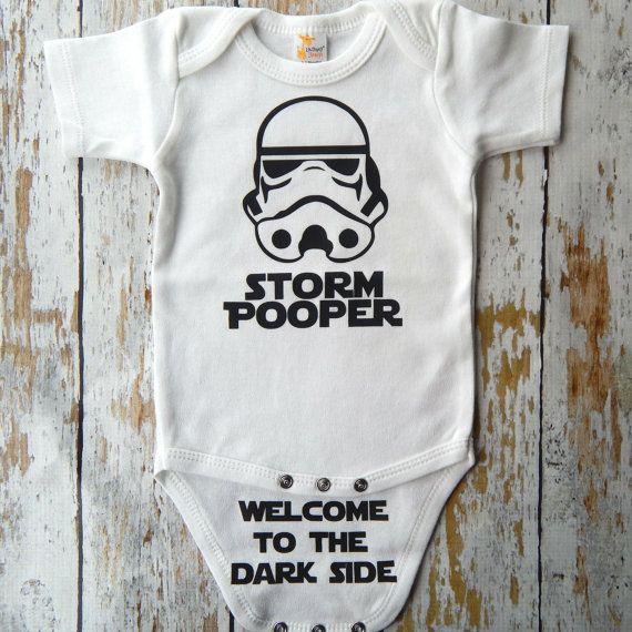 Star Wars /Funny grenouillère tempête Pooper par CutieButtsBoutique