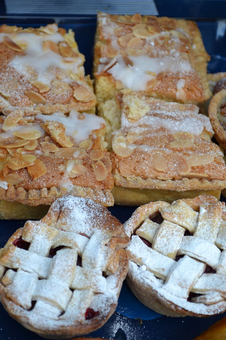 Myrtle Bakes- Bakewell Tarts and Cherry pies.