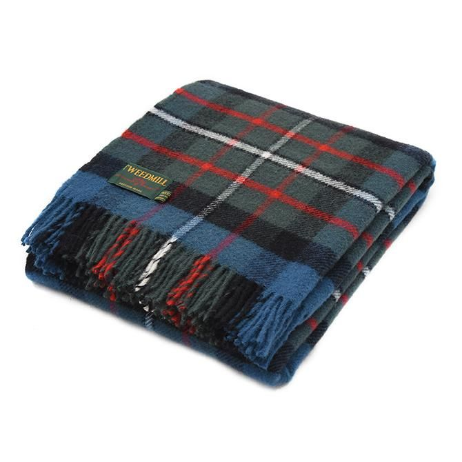 Tweedmill British Made 100% Wool Blanket - Ferguson