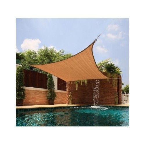 Outdoor Backyard Canopy Pool Deck Cover Sun Protection Shade Shelter Tent SALE #Canopy