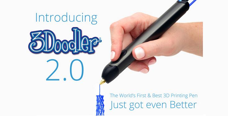 3Doodler 2.0 and New Accessories Launch on Kickstarter — 3D Printing Pen Reinvented http://3dprint.com/35140/3doodler-2-0/