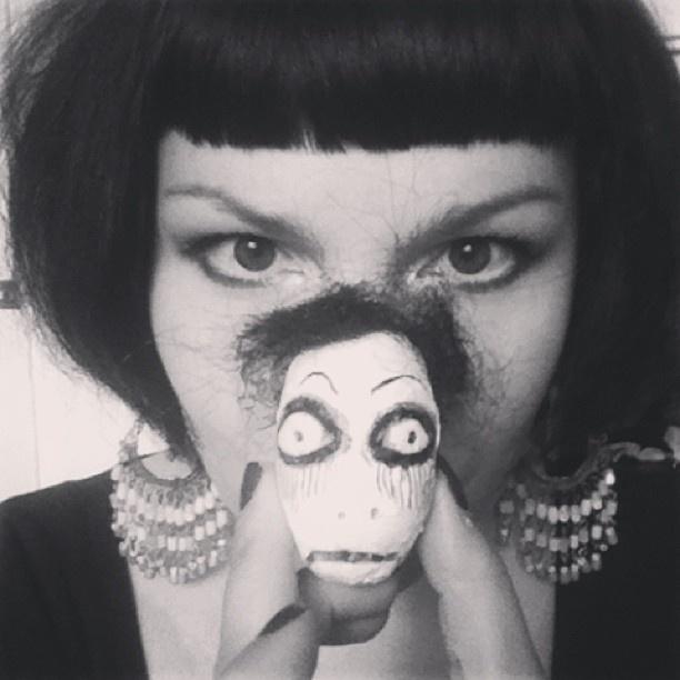 my dollhead +me