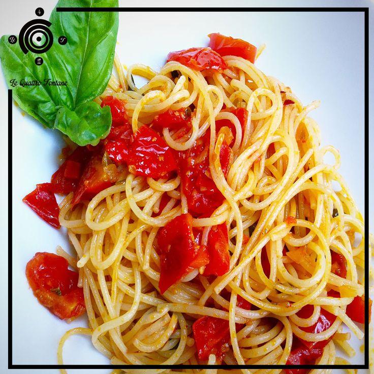 Spaghetti al pomodoro di pachino