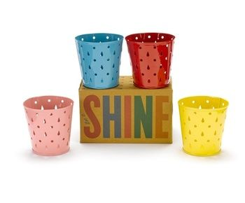 Tealight Holders Set Of 4, Only £6, Visit us instore at Inspired Cookware, Metro Centre, Red Mall