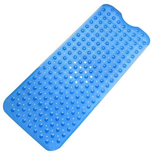 Our bath tub mat #that includes antislip suction cups for safety, which makes it grip for any kid, toddler, or #elderly person. It is an eco friendly, washable, a...