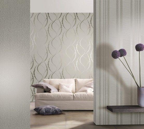 Die besten 25+ Graue tapete Ideen auf Pinterest silberne Tapete - graue tapete wohnzimmer