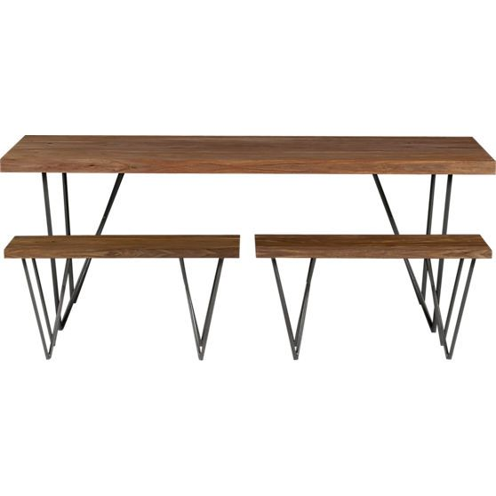 Dylan 36 Quot X80 Quot Dining Table In Dining Furniture Cb2