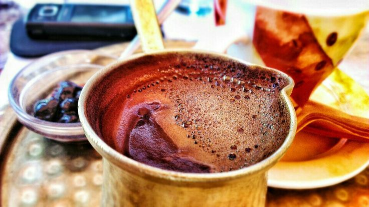 Greek #Coffee, the proper way of serving it ;)