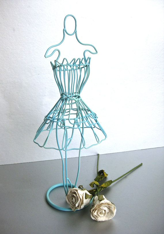 Take a look at this Wire Dress Form Stand by Three Hands Corporation ...