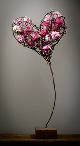 Flowers in the heart 4 - floral design Moniek Vanden Berghe
