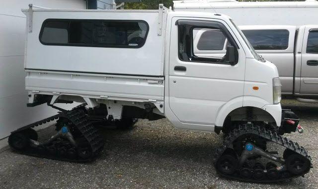 Daily Turismo: Apocalypse Ready: 2008 Suzuki Carry Mini Truck