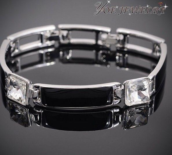 Высокое качество эмаль браслет золотые аксессуары.