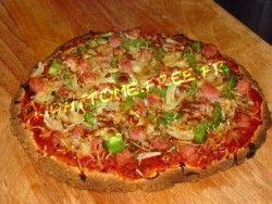 Pizza régime (comme une vrai)