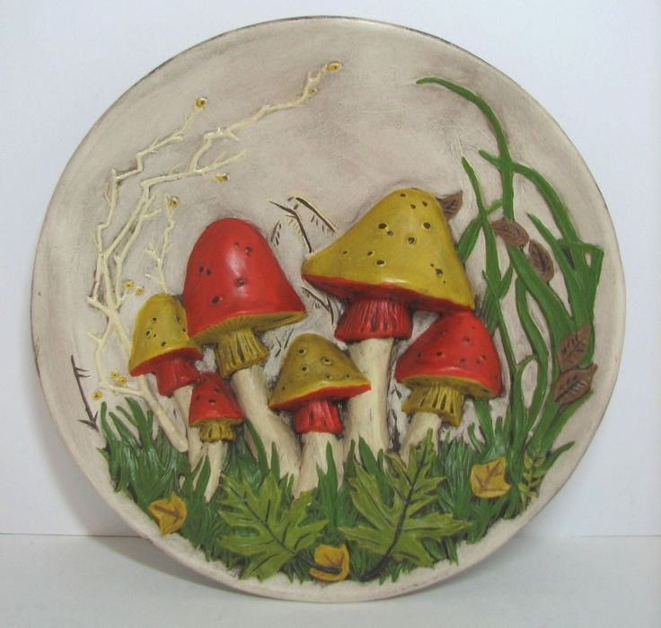 Vintage Mushroom Kitchen Decor: 78+ Images About That 70's Style On Pinterest
