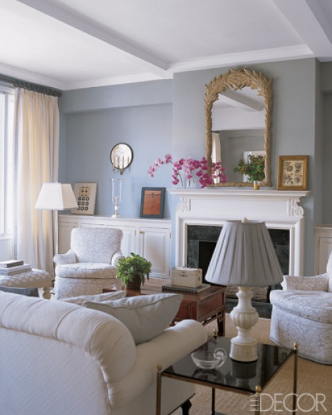 Light Blue White And Gold Living Room Moving On Up Pinterest