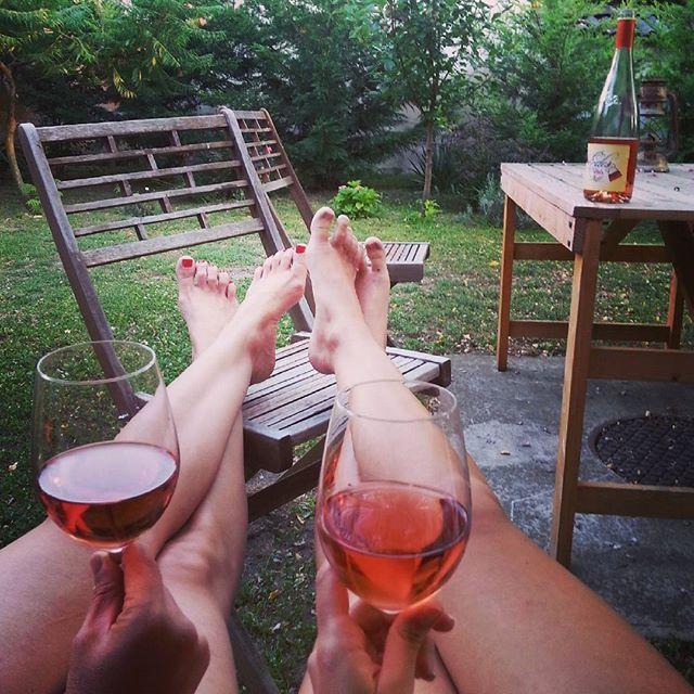 #rozé #varga #vargapinceszet #wine #chill #friday #garden #vargaborinsta