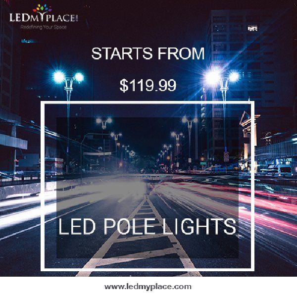 Installing Environment Friendly 300w Led Pole Light Led Parking Lot Lights Installation Lights