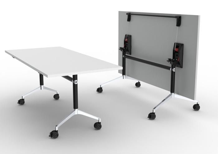 U.R | UCI Table. Tilt-top stacking table for workplaces that demand flexibility such as boardrooms, training rooms and temporary desking. uci.com.au