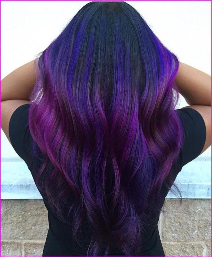 65 Awesome Purple Hair Color Ideas Hair Color Purple Dark