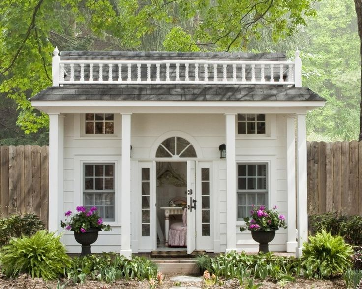 """This FME junior's """"She Shed"""" would make a great home office! Traditional Kids by Lobalzo Design Associates, Ltd"""