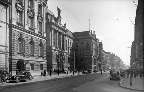 """Landeshaus der Provinz Schlesien (Sejm Prowincji Śląskiej) , NOT, Kino """"Atom"""", ul. Piłsudskiego Józefa"""
