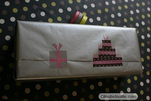 masking tape cake