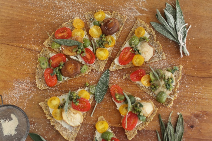 spicy hummus spread and crispy pizza: Food Recipes, Flax Seeds, Pizza Crusts, Cups Walnut, Pizza Pizza, Sea Salts, Pizza Recipes, Hemp Seeds, Food Processor