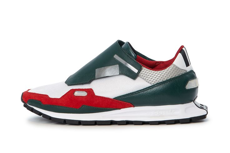 Raf Simons X Adidas 2014. I would 100% sweat these joints at Planet Fitness. Lunk alarm.
