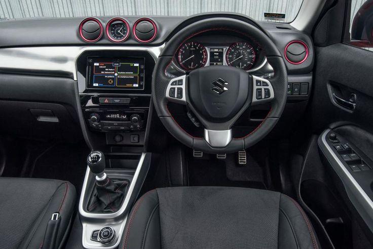 Suzuki Vitara S Boosterjet Compact SUV Interrior