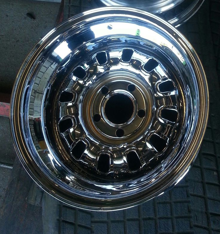 Ford Falcon XA XB XC Hardtop Chrome 12 Slot Wheel GS GT Cobra NEW 15 X 10 TWO OF | eBay