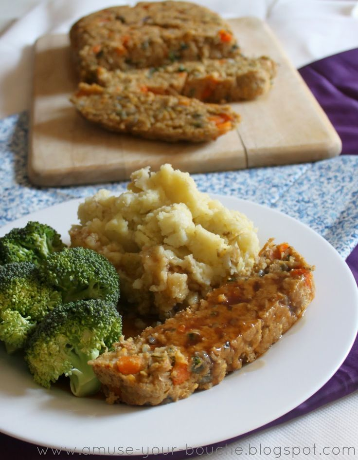 Vegan lentil loaf - Amuse Your Bouche