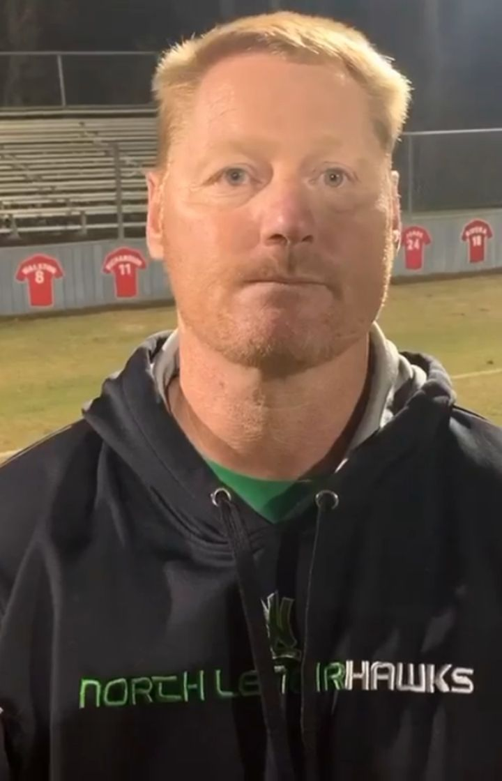 Nl Head Coach Chris Evans After The Hawks Were Eliminated By North Johnston 2 1 The Goal Was Scored By Luis High School Johnston Chris Evans