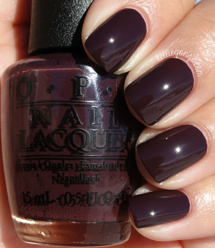 OPI Sleigh Parking Only // kelliegonzo.com