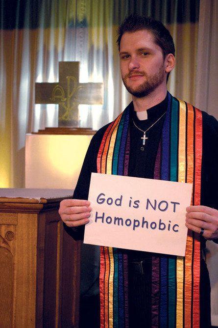 God is not homophobic.