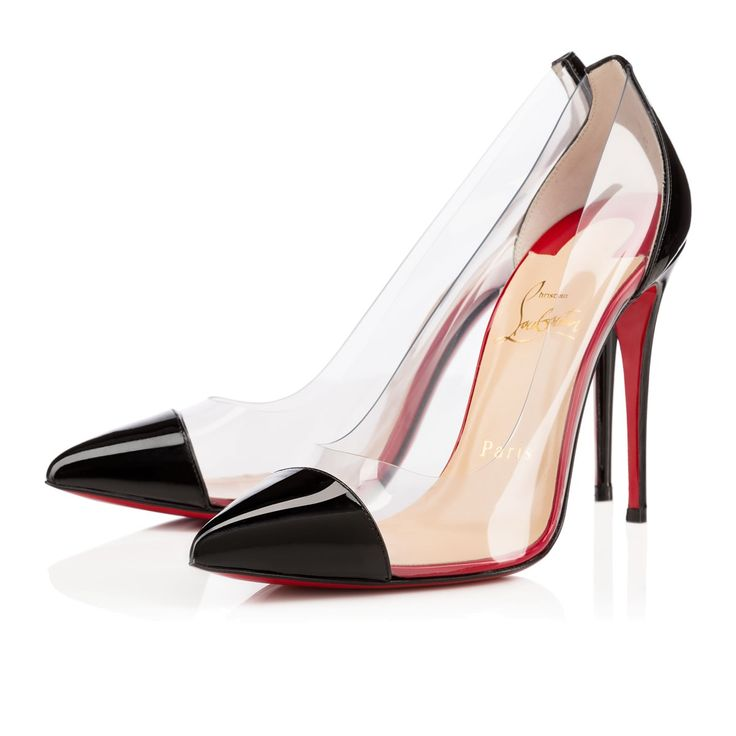 christian louboutin pumps simple nodo 85 aus lackleder