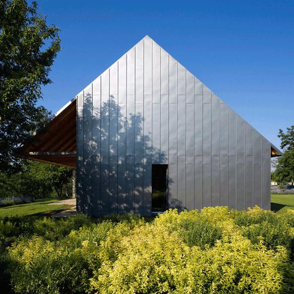 Architektur » Ein modernes Landhaus auf 1,5 ha Land