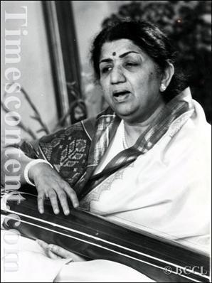 Lata Mangeshkar Manna Dey i Kishor Kumar Moh Rafi Asha Bhosle