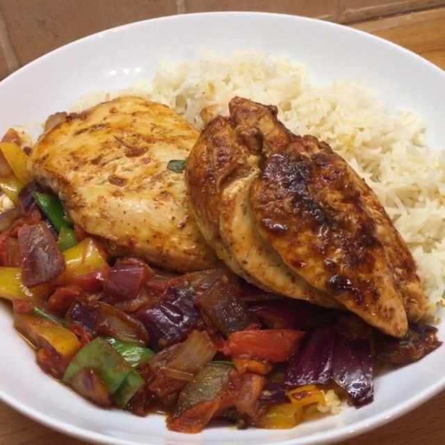 Lean in 15 - peri peri chicken