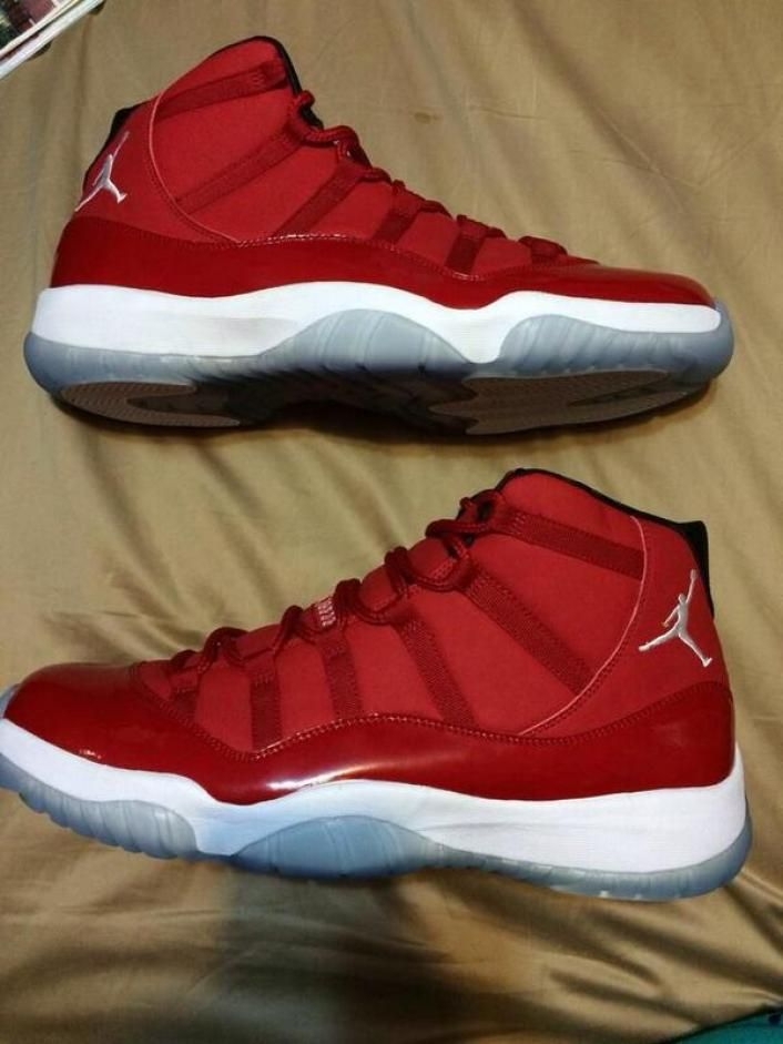 I'm so digging these Jordan's. Air Jordan 11 Retro