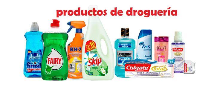 Productos de droguería, mejores marcas del mercado al mejor precio. www.todastuscompras.com