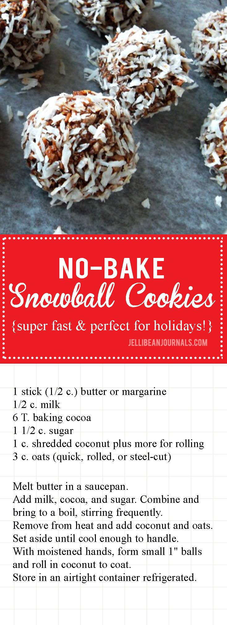 how to make snowballs recipe